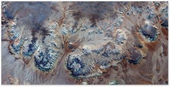 Poster Fleurs sous-marines allégorie, plante Pierre imaginaire, abstrait Naturalisme, résumé photographie déserts de l'Afrique de l'air, le surréalisme abstrait, mirage, formes fantastiques dans le désert, les plantes, les fleurs, les feuilles,