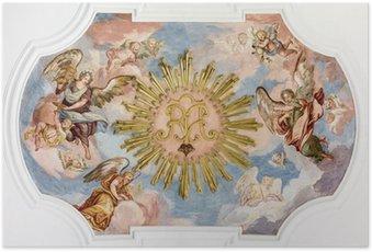 Poster Fresco anges
