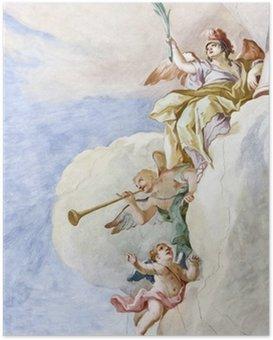Poster Fresque Wieskirche
