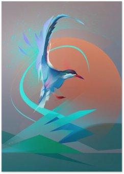 Póster HD Bird golondrina de mar gaviota