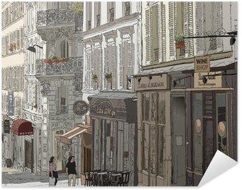 Póster HD Calle en Montmartre