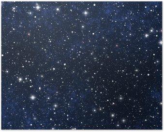 Poster HD Ciel étoilé la nuit