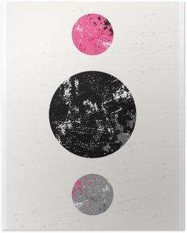 Poster HD Composition géométrique abstraite