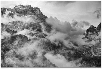 Dolomites Mountains Poster HD