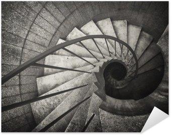 Poster HD Escalier en colimaçon
