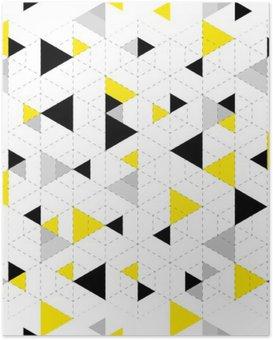 Poster HD Géométrique, modèle, fond