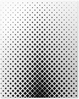 Poster HD Motif carré Monochrome design fond