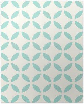 Poster HD Motif continu. Dessiné main. Fleur. Background design