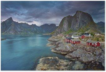 Poster HD Norvège