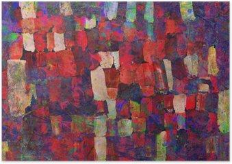 Poster HD Peinture d'art abstrait