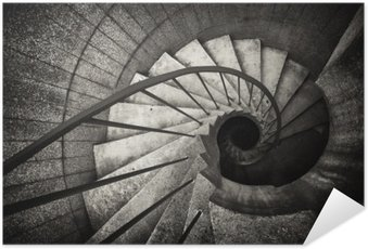 Poster HD spiral staircase