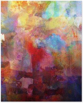 Poster HD Textures de peinture