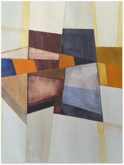 Poster HD Une aquarelle abstraite moderniste