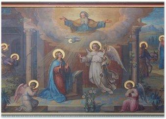 Poster HD Vienne - Annonciation Carmes frais église