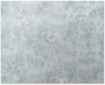 Ice cover seamless texture. Poster