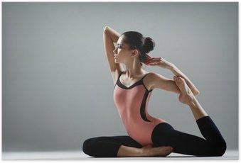 Poster L'exercice de yoga