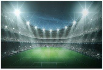 Poster Licht van Stadion
