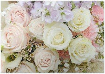 Poster Mooie roos