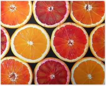 Póster Naranjas