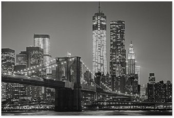 Poster New York de nuit