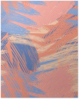 Poster Pastel Sophisticated motif de fond