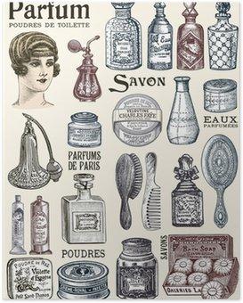 Poster Produits de beauté
