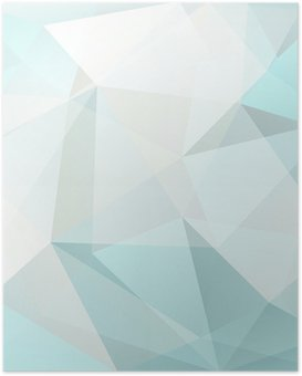 Poster Résumé triangle fond, vecteur
