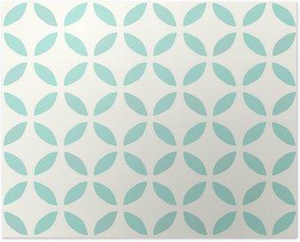 Seamless Pattern. Hand Drawn. Flower. Background design Poster