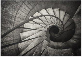 Poster Spiraltrappa