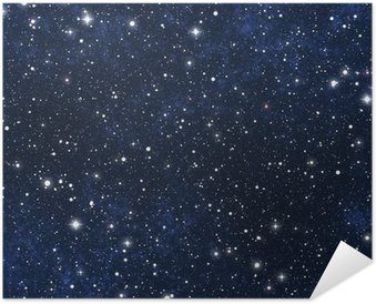 Poster star filled night sky
