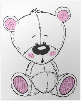 Poster Tekening Teddy