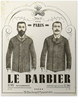 Poster The Barber