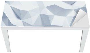 Proteção para Mesa e Secretária Abstract faceted geometric paper background