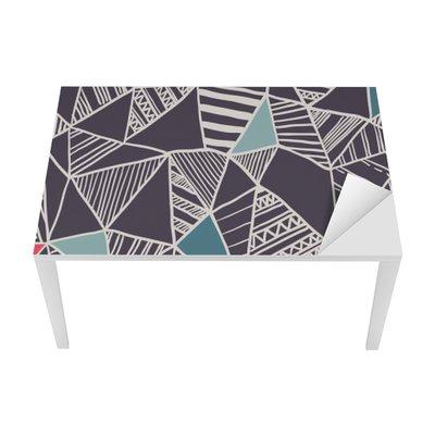 Proteção para Mesa e Secretária Abstract seamless pattern rabisco