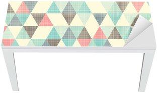 Proteção para Mesa e Secretária seamless geometric pattern