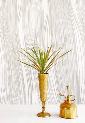 PVC Print Spray bottle and Yucca plant. Care and growing concept.