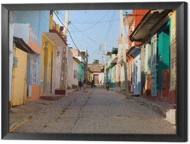 Quadro in Cornice Colori Trinidad