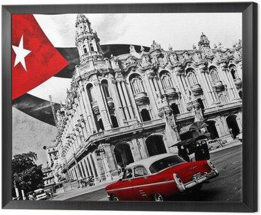 Quadro in Cornice Cuba (n & b)