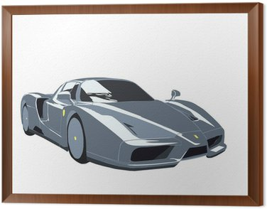 Quadro in Cornice Ferrari Enzo SPORTSCAR