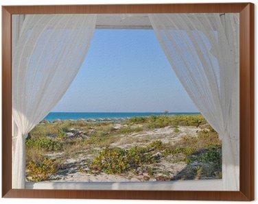Quadri su tela finestre pixers viviamo per il cambiamento - Quadro finestra ...