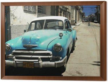 Quadro in Cornice Havana street - cross process