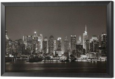 Quadro in Cornice Midtown Manhattan Skyline