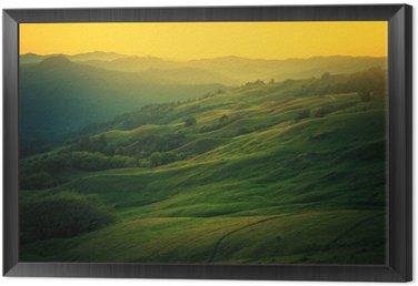 Quadro in Cornice Northern California paesaggio
