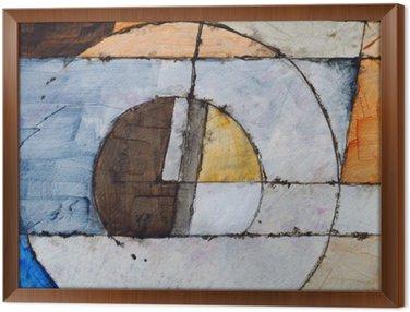 Quadro in Cornice Una pittura astratta