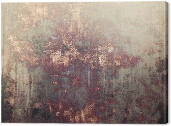 Quadro su Tela Antique sfondo texture vintage. Con differenti modelli di colore: giallo (beige); Marrone; grigio; Nero