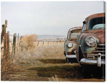Quadro su Tela Auto d'epoca
