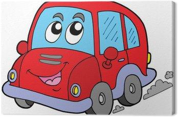 Quadro su Tela Cartoon auto