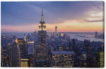 Quadro su Tela Città new york