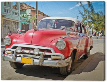 Quadro su Tela Classic Chevrolet a Trinidad, Cuba