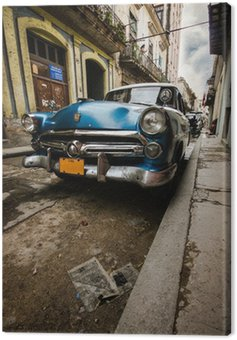 Quadro su Tela Cuba Vintage